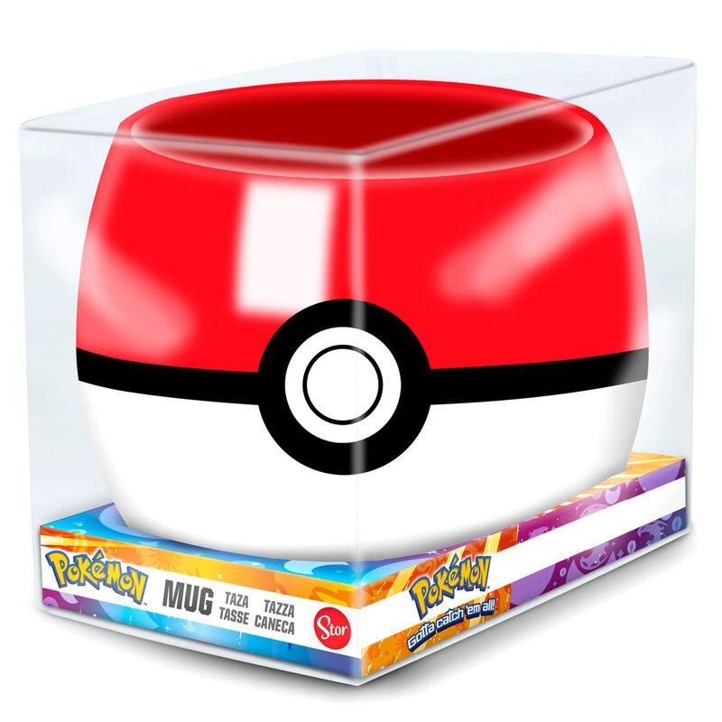 Taza 3D Pokeball Pokemon