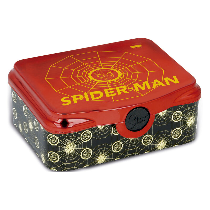 Sandwichera Golden Webs Spiderman Marvel
