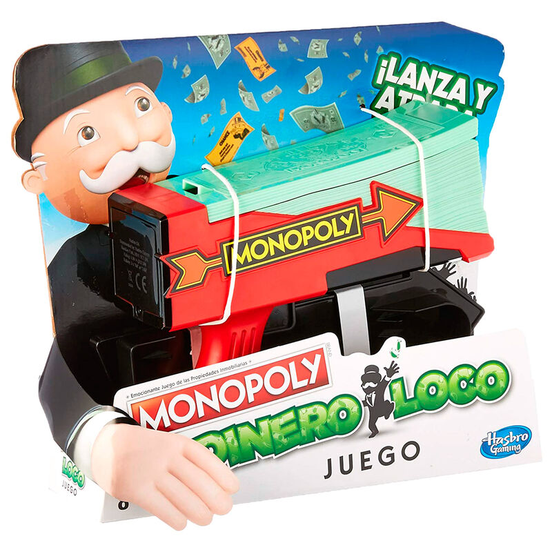 Juego Monopoly Dinero Loco 5010993541003