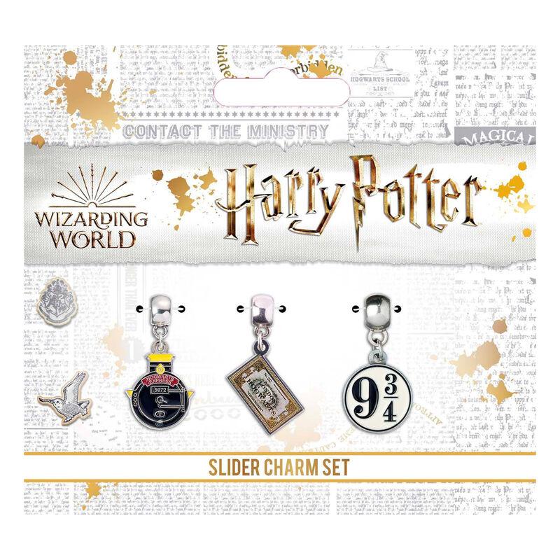 Set 3 colgantes Howgarts Express Harry Potter surtido