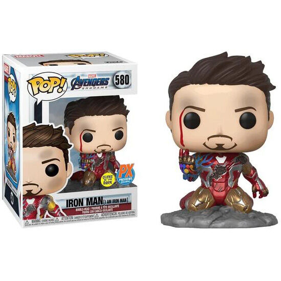 Funko POP o Figura POP Marvel Vengadores Endgame I Am Iron Man Exclusive*