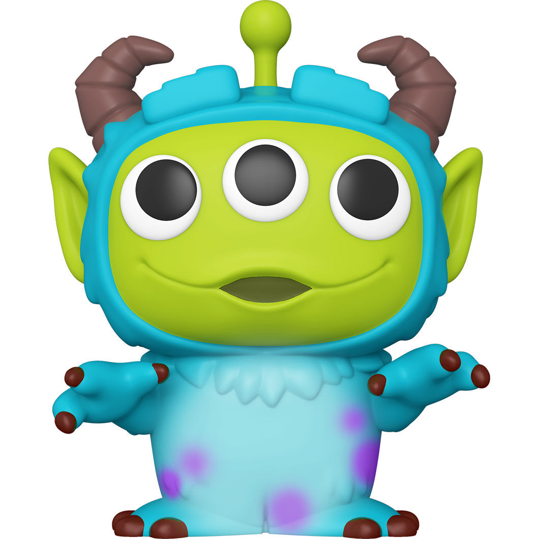 Funko POP o Figura POP Disney Pixar Alien Remix Sulley 25cm