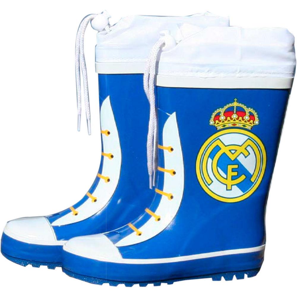 Botas agua azules cierre ajustable Real Madrid 842514885959426