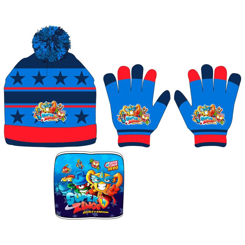 Conjunto gorro guantes braga cuello Superzings 5901854823713