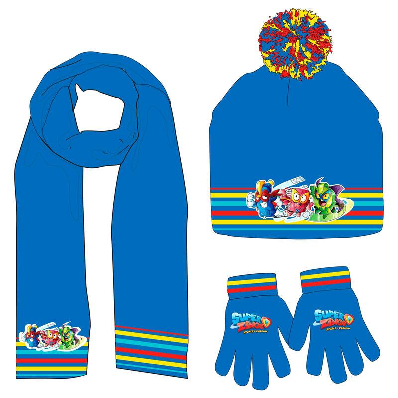 Conjunto gorro guantes braga cuello Superzings 5901854823720