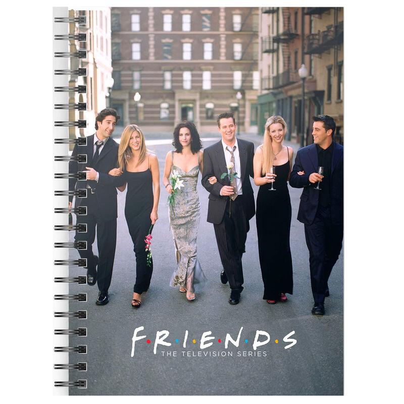 Cuaderno A5 Ciudad Friends