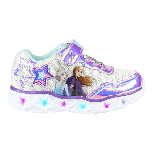 frozen shoes with lights