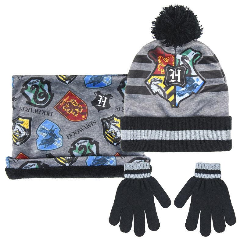 Conjunto gorro guantes braga cuello Harry Potter 8427934406623