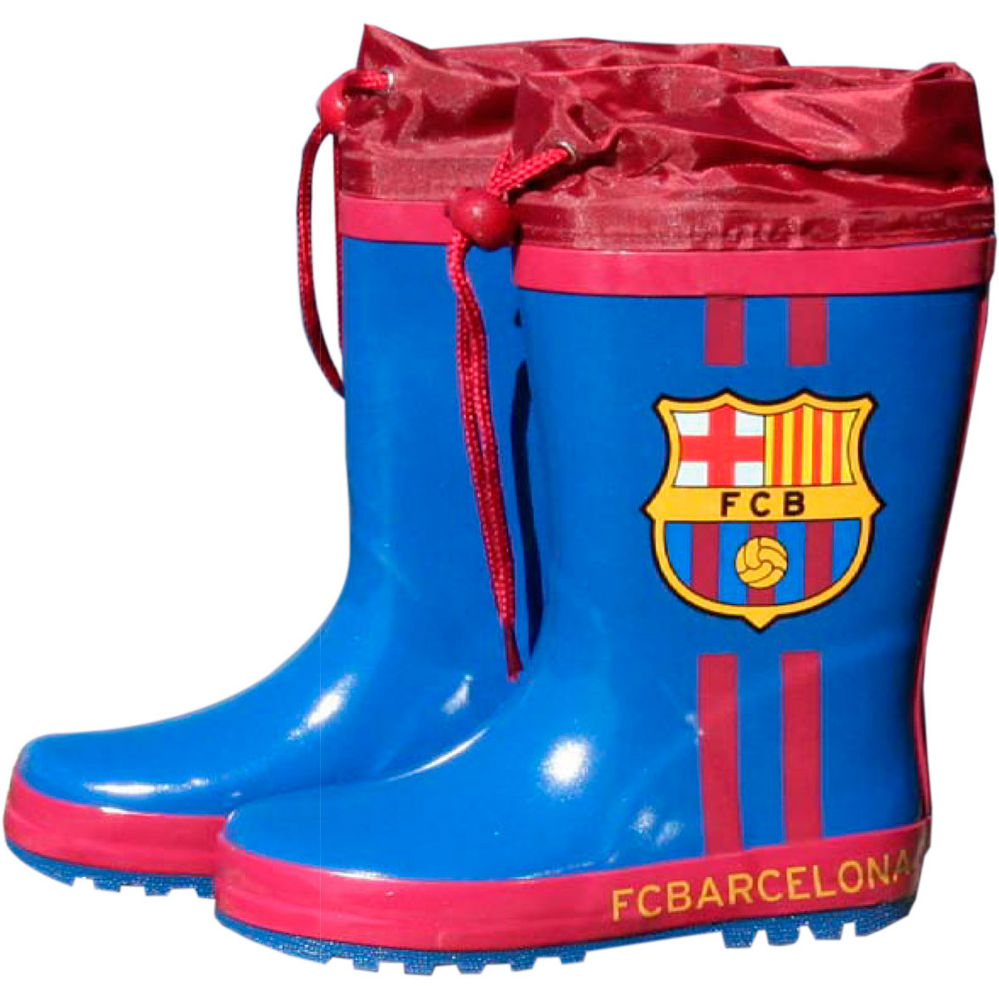 Botas agua azules cierre ajustable FC Barcelona 842514885951826