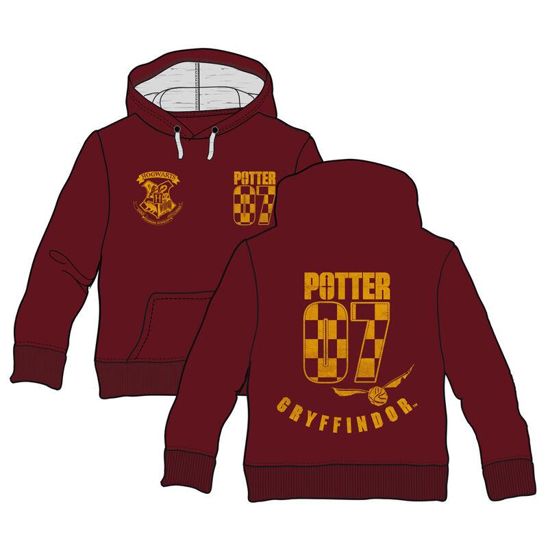 Harry Potter Gryffindor adult hooded sweatshirt