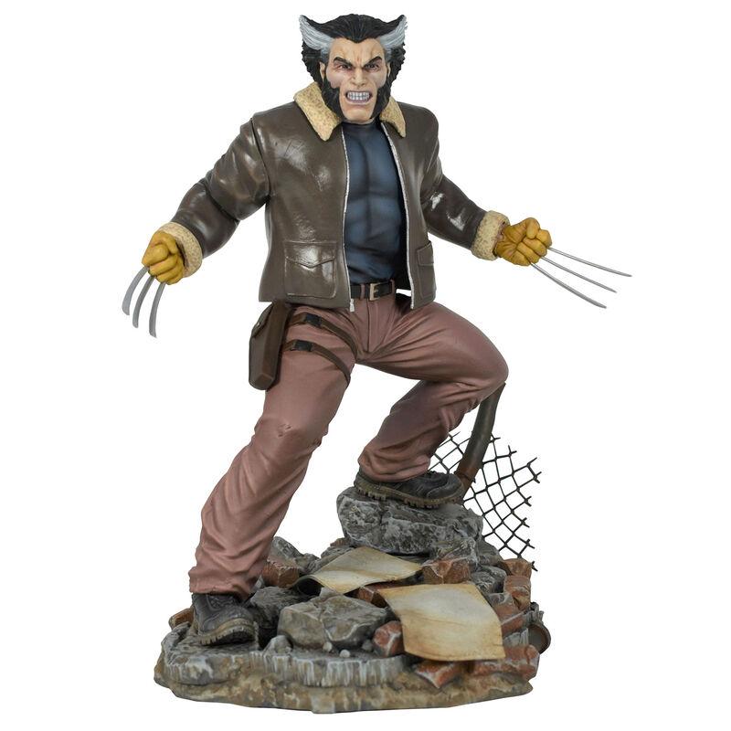 Figura diorama Lobezno X-Men Marvel 23cm 699788839935