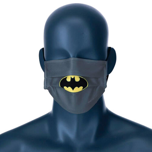 Mascarilla reutilizable Batman DC Comics infantil