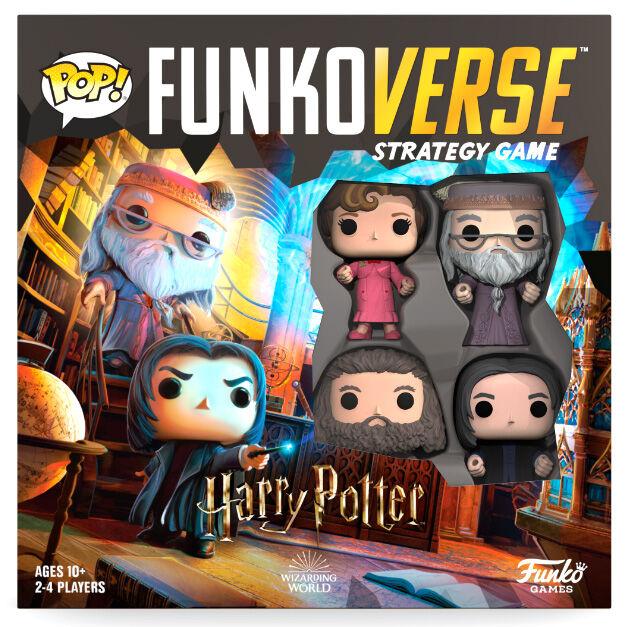 Juego mesa POP Funkoverse Harry Potter 4 figuras Ingles