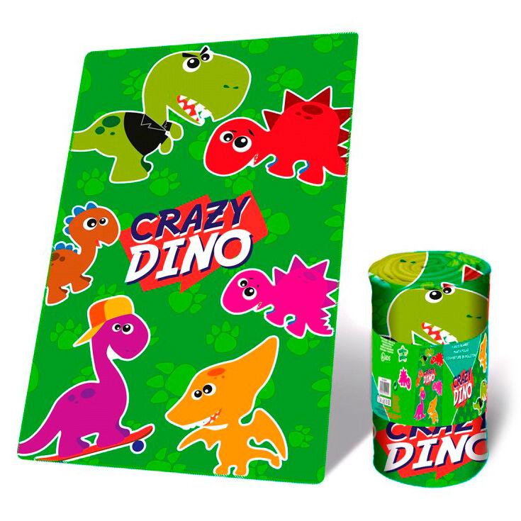 Manta polar Crazy Dino 8435507843140