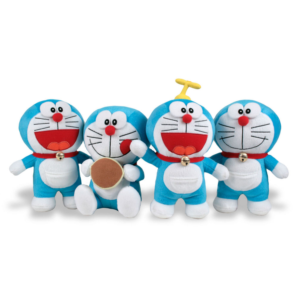 Peluche Doraemon soft 24/27cm surtido 8425611305405