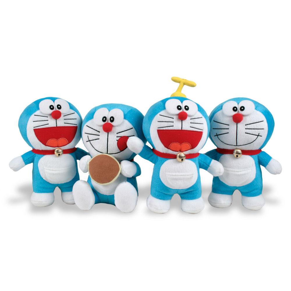 Peluche Doraemon soft 40/45cm surtido 8425611305412