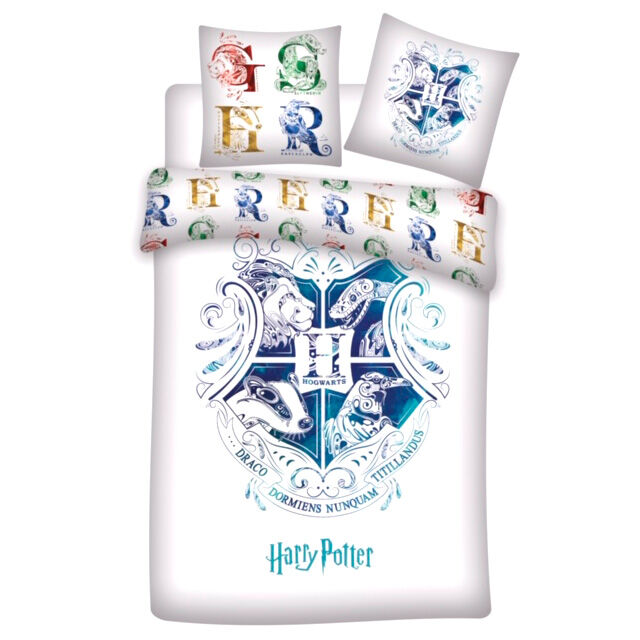 Funda nordica Hogwarts Harry Potter cama 90cm