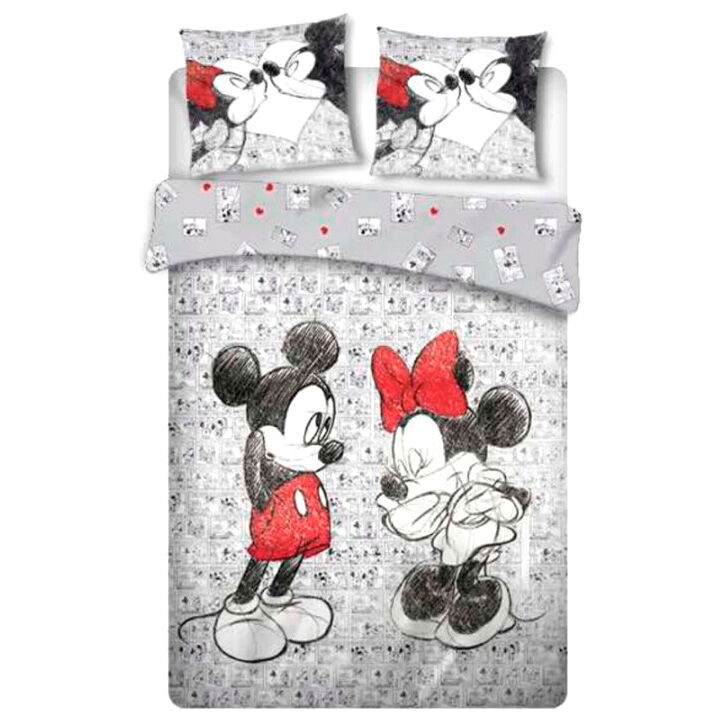Funda nordica Mickey and Minnie Disney cama 135cm