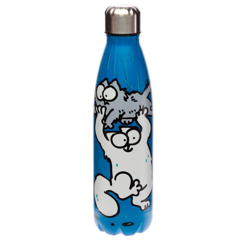 Botella acero inoxidable Simons Cat 5055071749797