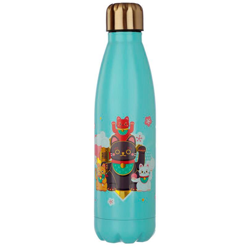 Botella acero inoxidable Maneki Neko 5055071754050