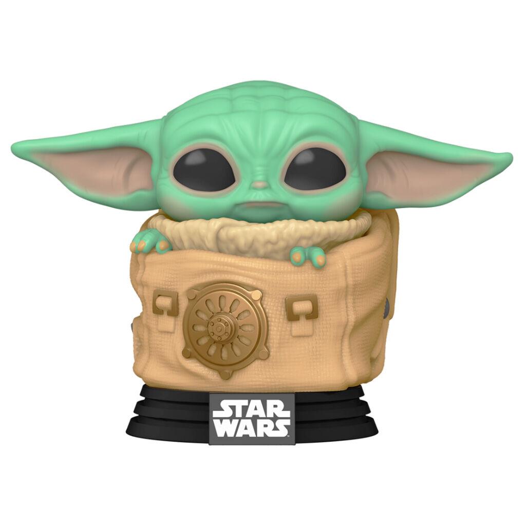 Funko POP o Figura POP Star Wars The Mandalorian Baby Yoda (The Child) Grogu con bolsa (2)