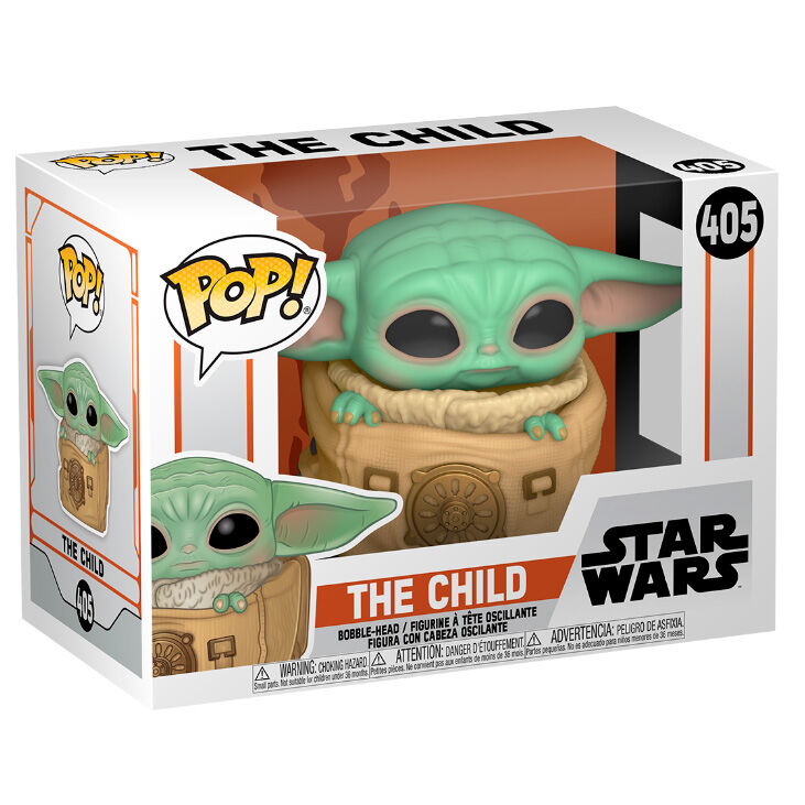 Funko POP o Figura POP Star Wars The Mandalorian Baby Yoda (The Child) Grogu con bolsa (3)