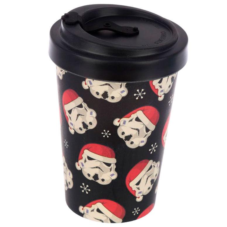 Taza viaje Navidad Original Stormtrooper bambu 5055071760822