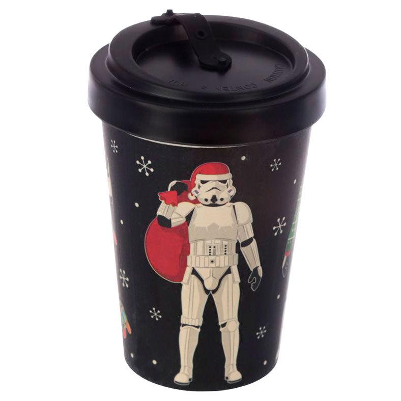 Taza viaje Navidad Original Stormtrooper bambu 5055071760839