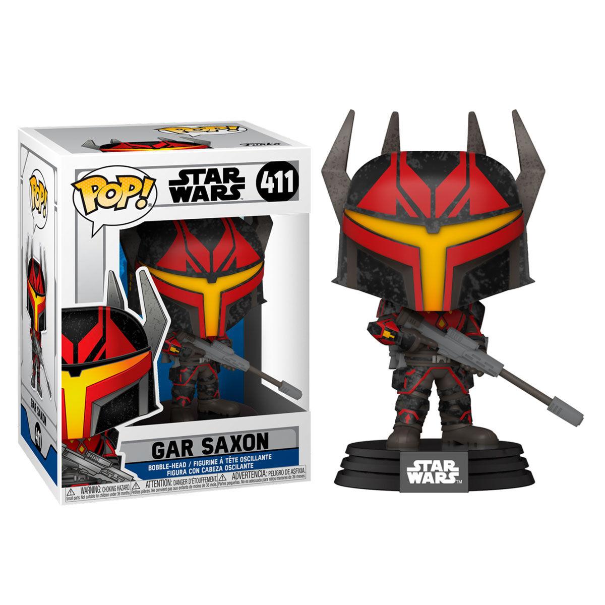 Funko POP o Figura POP Star Wars Clone Wars Gar Saxon