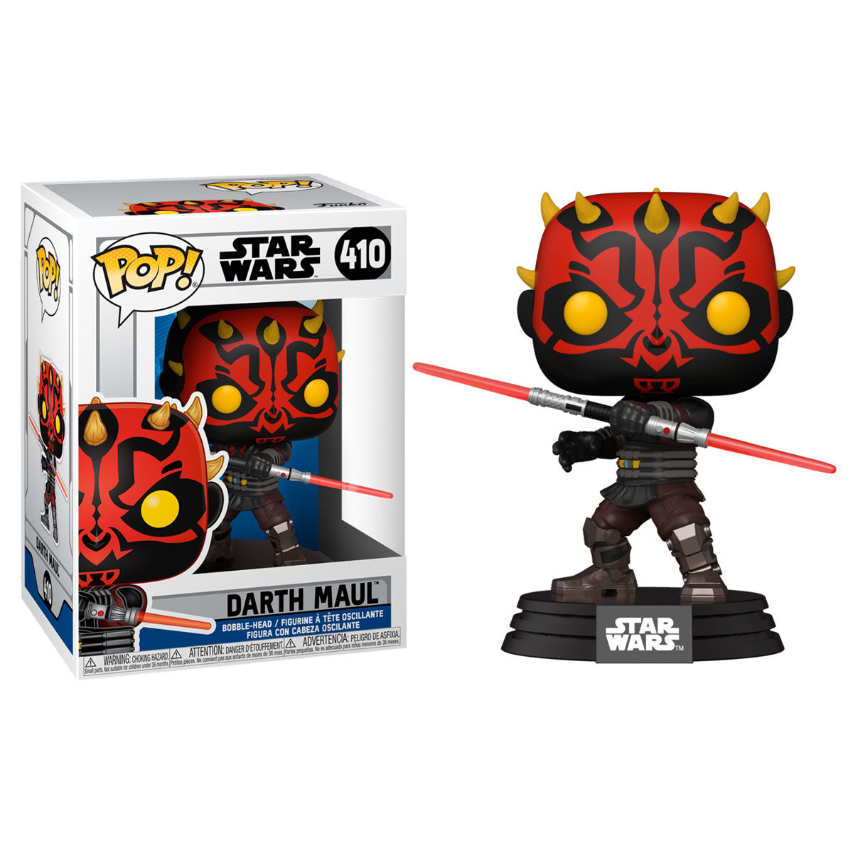 PRE-PEDIDO Funko POP o Figura POP Star Wars Clone Wars Darth Maul