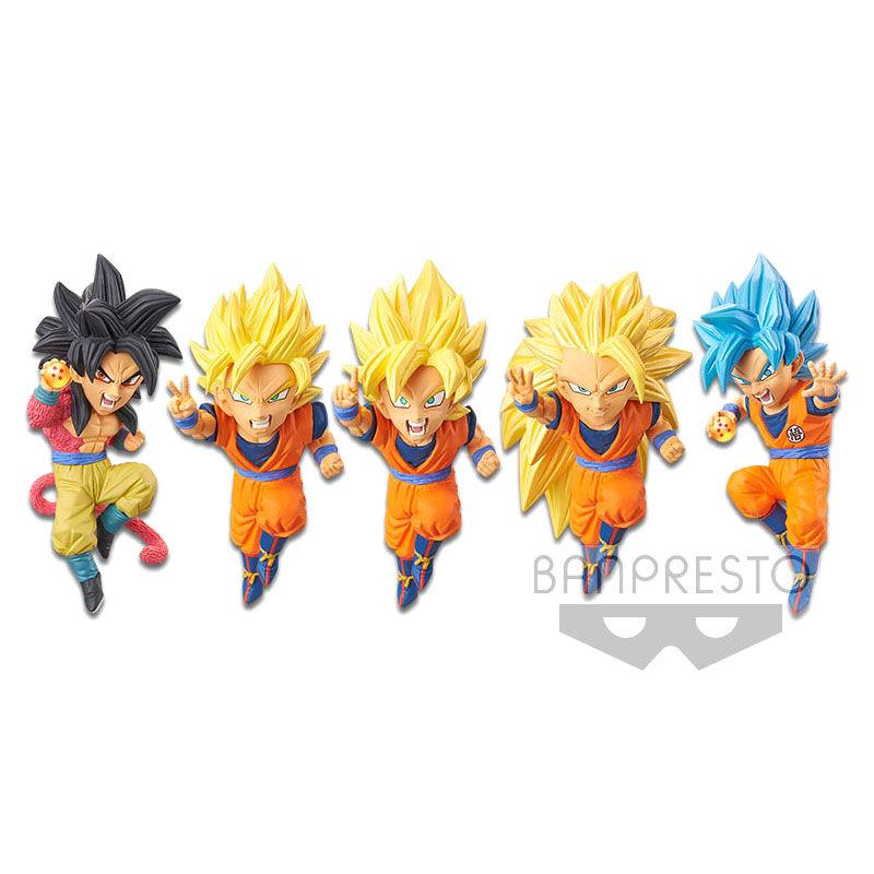 Figura World Collectable Dragon Ball Z Dokkan Battle vol. 1 surtido 7cm 4983164161120