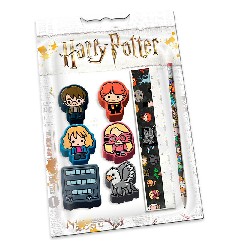 Set papeleria Leviosa Harry Potter 8445118016895