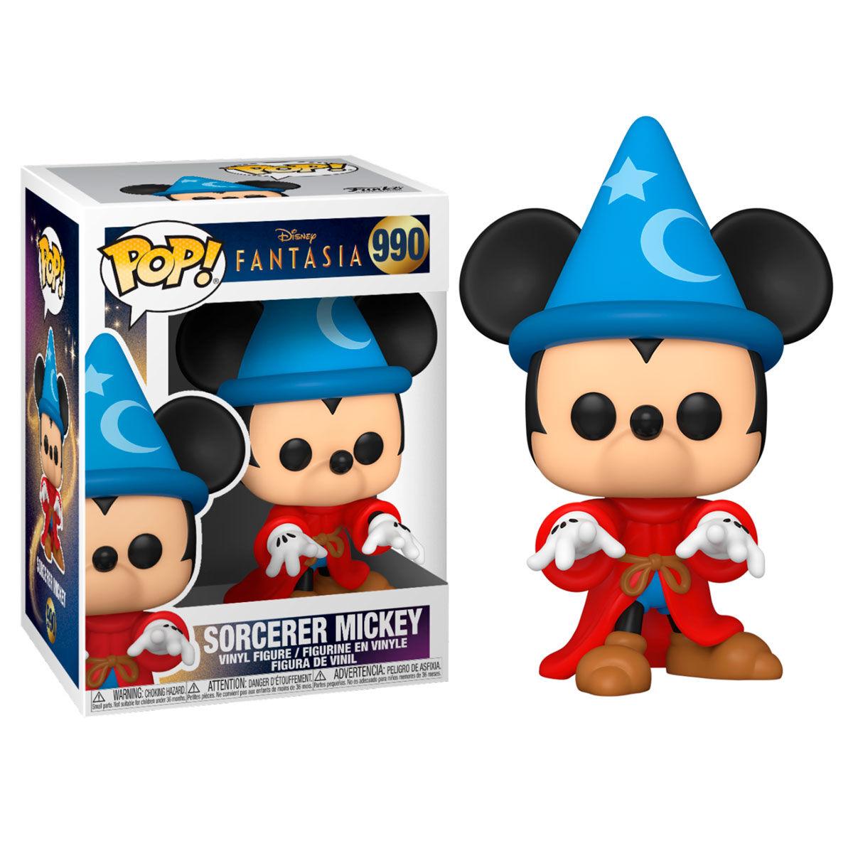 Funko POP o Figura POP Disney Fantasia 80th Sorcerer Mickey
