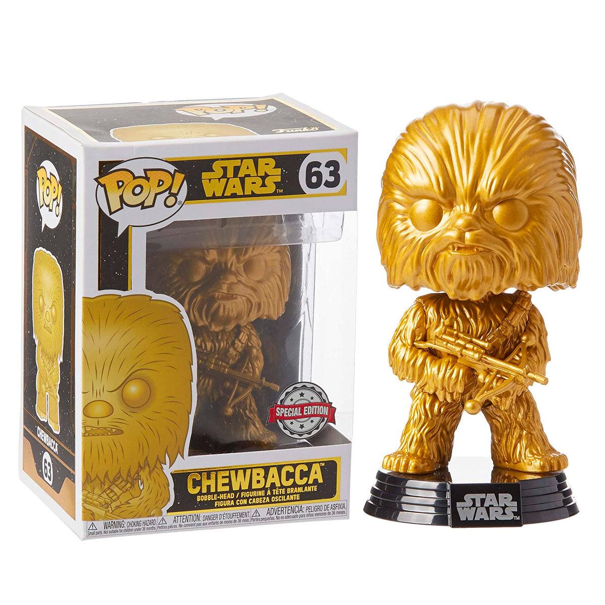 Funko POP o Figura POP Star Wars Chewbacca Exclusive
