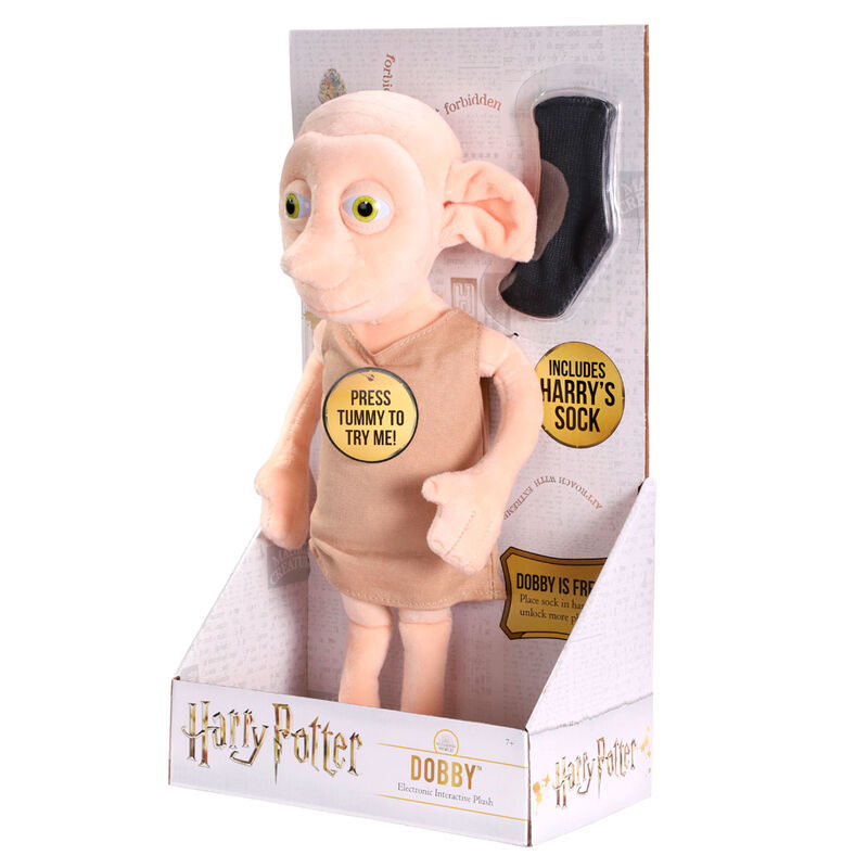 Peluche interactivo Dobby Harry Potter 32cm