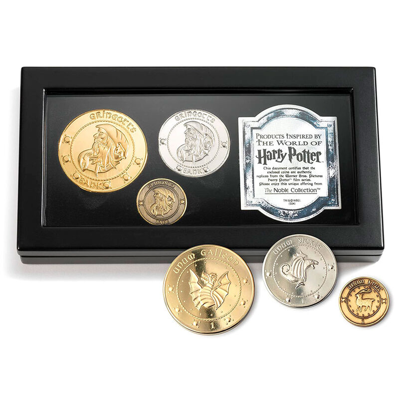 Set monedas Gringotts Harry Potter