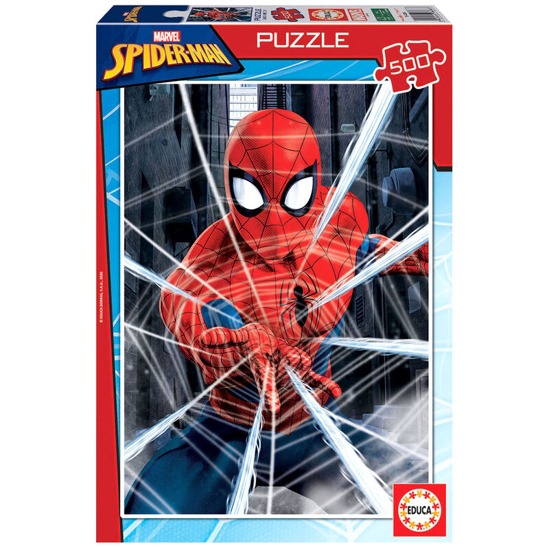 Puzzle Spiderman Marvel 500pz