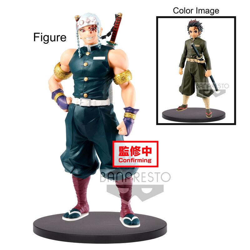 Figura Tengen Uzui Demon Slayer Kimetsu No Yaiba vol. 12 18cm 4983164170962