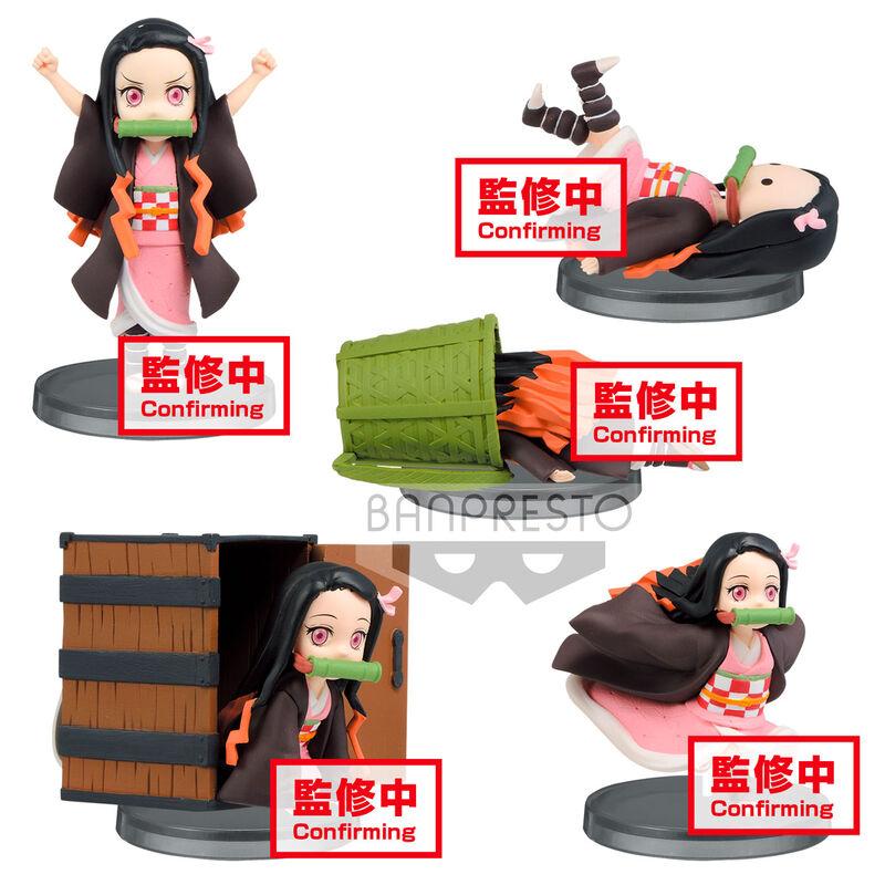 Figura World Collectable Nezuko Kamado Demon Slayer Kimetsu No Yaiba surtido 7cm 4983164171198