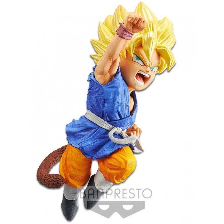Figura Super Saiyan Son Goku Wrath of the Dragon Dragon Ball GT 13cm 4983164199376
