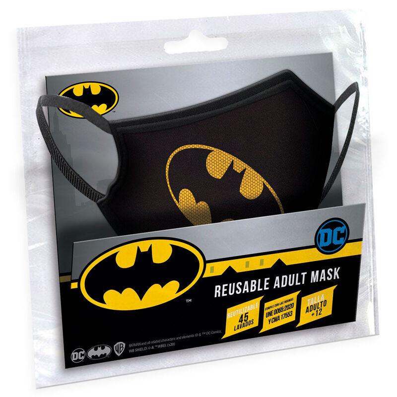 Mascarilla reutilizable Gotham Batman DC Comics adulto