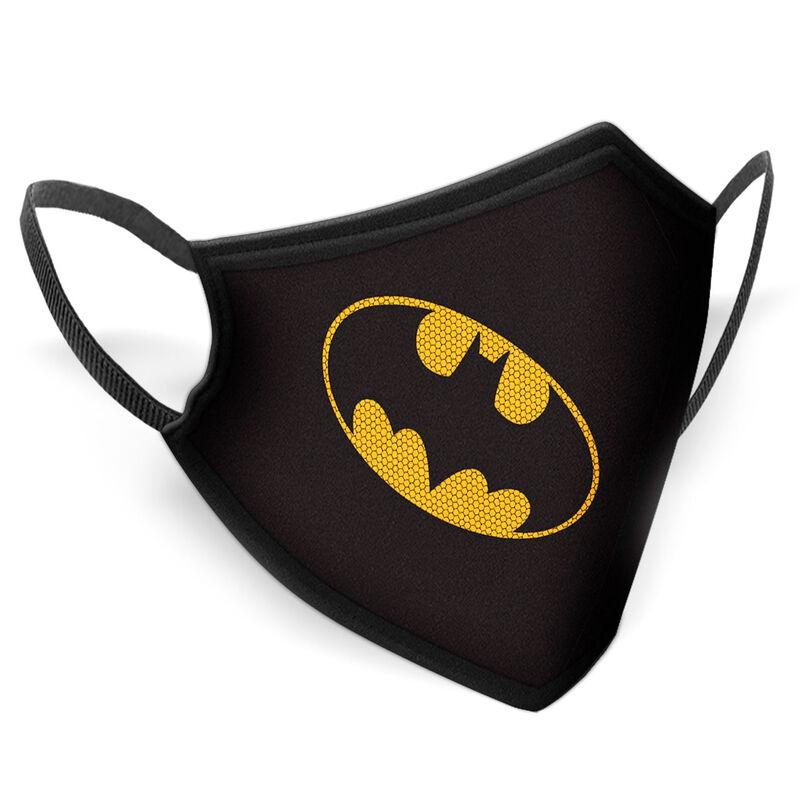 Mascarilla reutilizable Gotham Batman DC Comics infantil