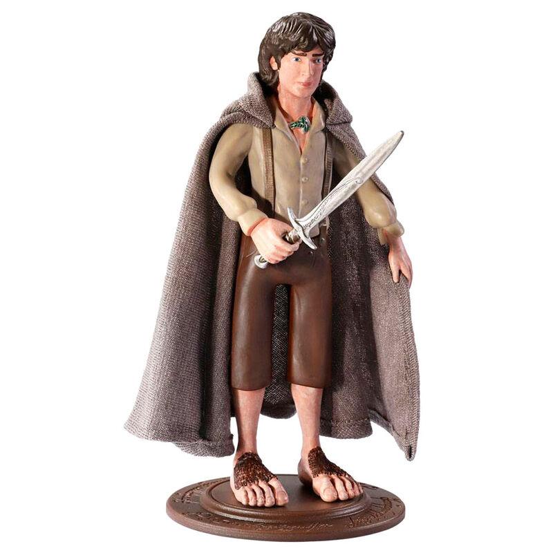 Figura Maleable Bendyfigs Frodo El Señor de los Anillos 19cm