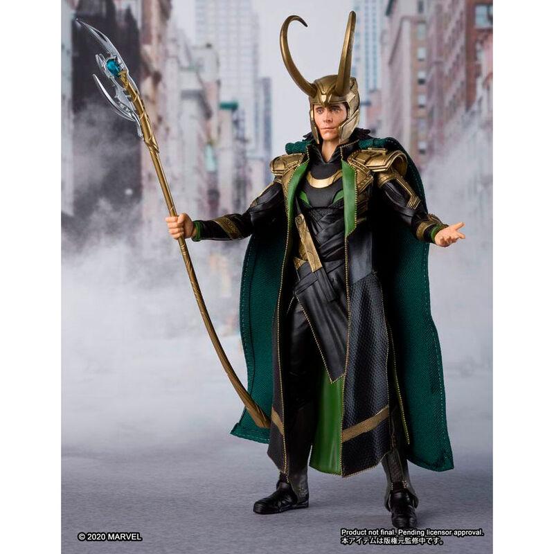 Figura Loki Vengadores Avengers Marvel 15cm (1)