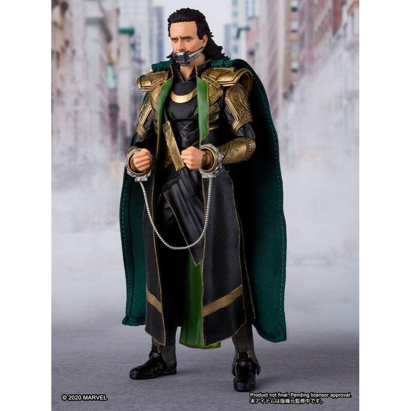 Figura Loki Vengadores Avengers Marvel 15cm (2)