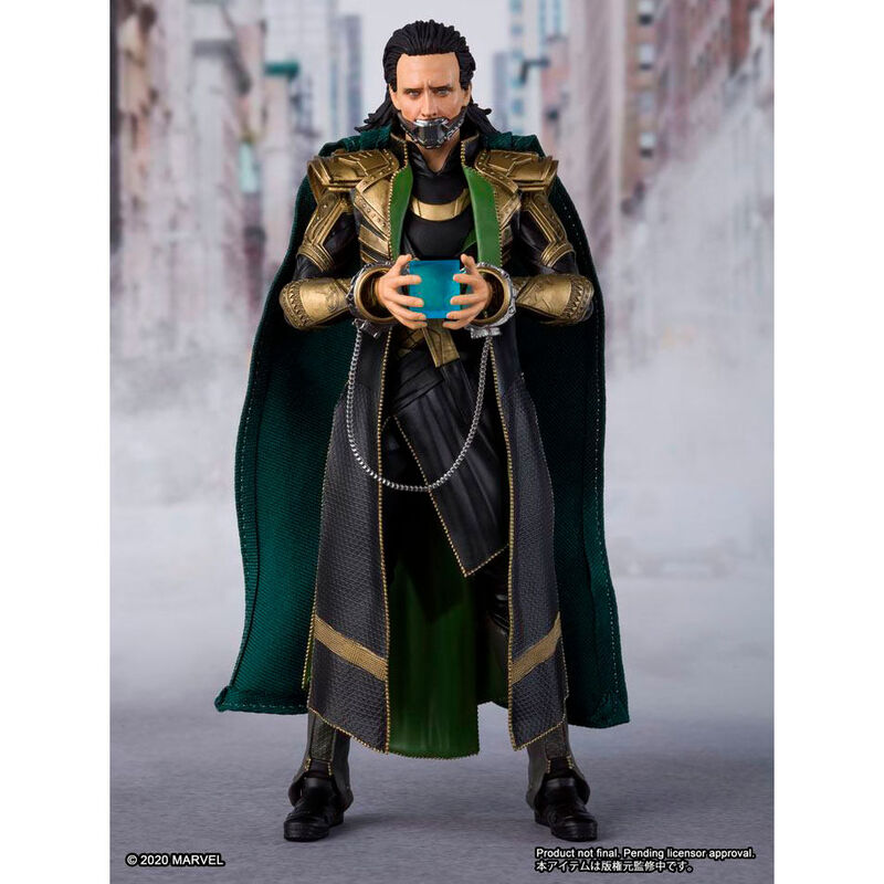 Figura Loki Vengadores Avengers Marvel 15cm (3)