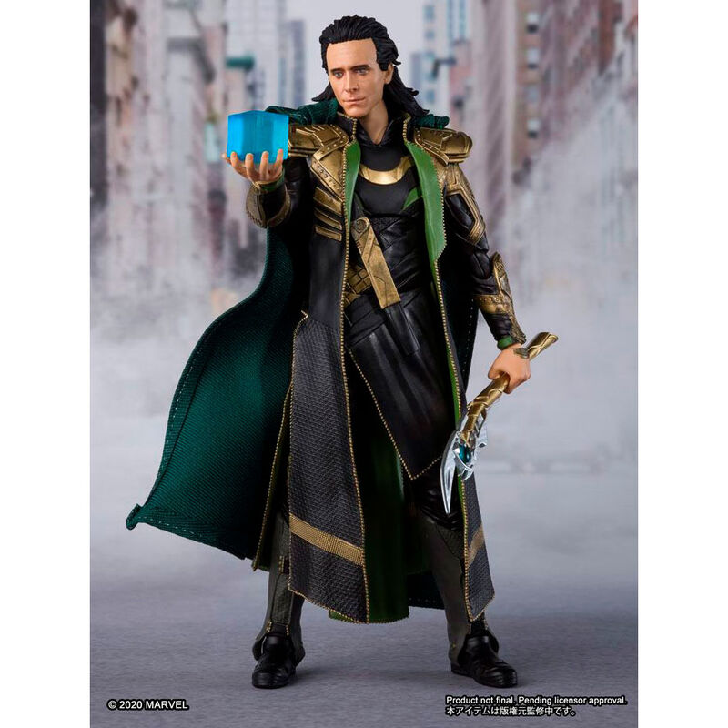 Figura Loki Vengadores Avengers Marvel 15cm (4)