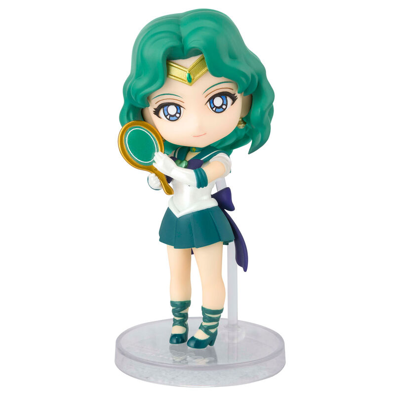 Figura Super Sailor Neptune Eternal Edition Pretty Guardian Sailor Moon Eternal 9cm 4573102609915