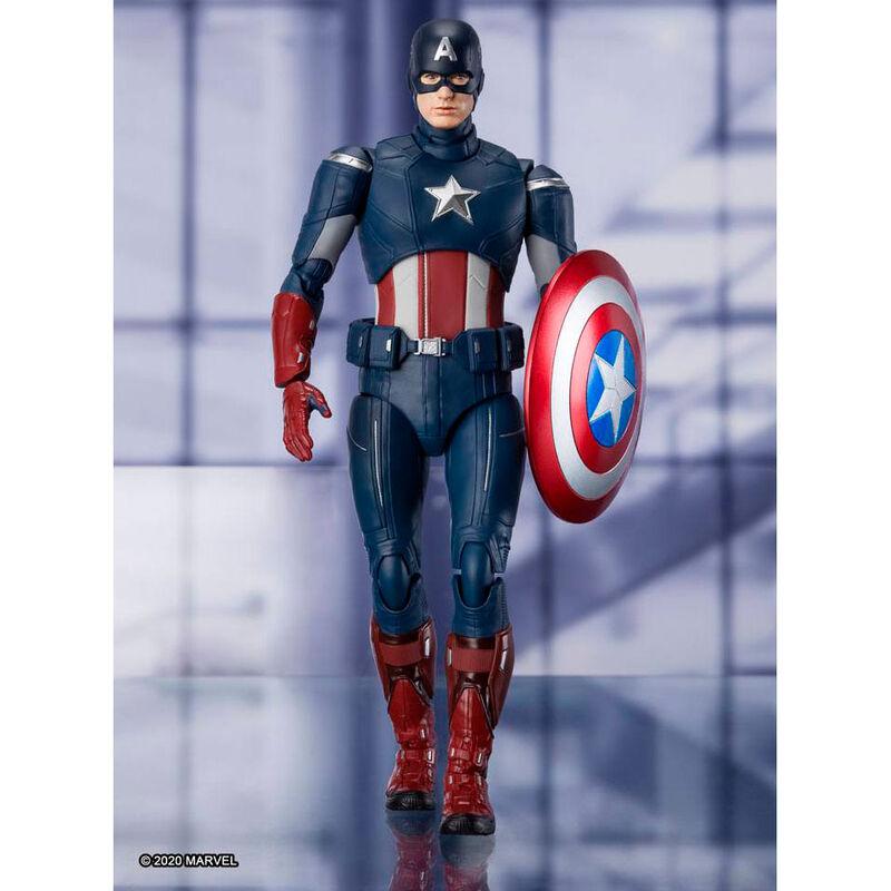 Figura Capitan America Endgame Vengadores Avengers Marvel 15cm