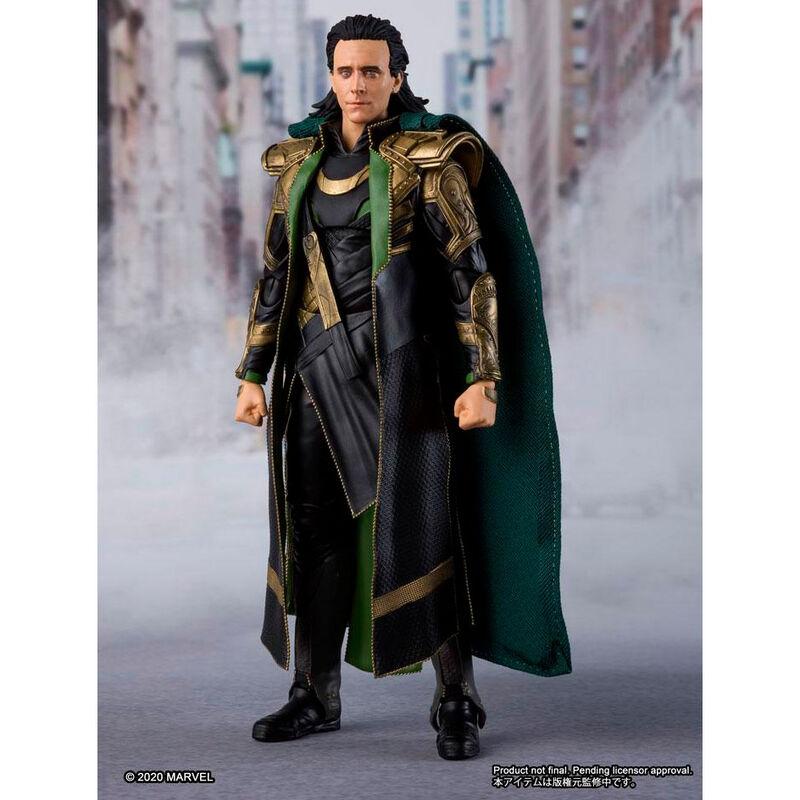 Figura Loki Vengadores Avengers Marvel 15cm